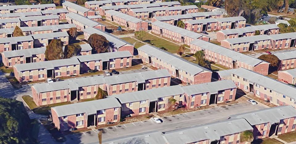 Jernigan Gardens Apartments aerial view